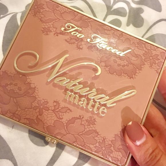 Too Faced Other - Too Faced Natural Mattes Eyeshadow Palette